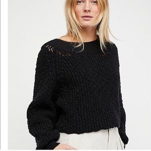 Brand new! Free people off the shoulder sweater